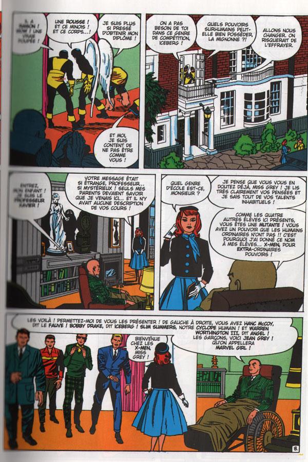 Univers Marvel : X-Men Jeangrey