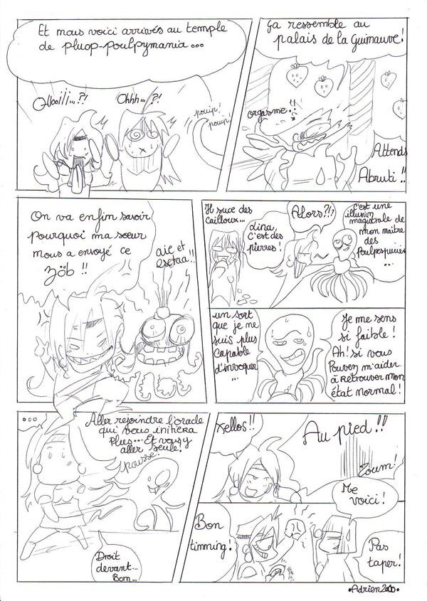Slayers Exquis : le cadavre exquis des fans français autour de Slayers ! Slayersexquisquatorzepetit