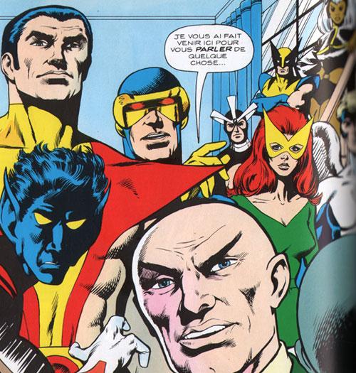 Univers Marvel : X-Men Uncannyxmenxavier
